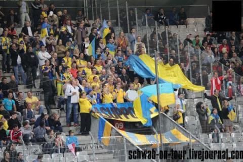 товарищеская игра Австрия - Украина в Инсбруке